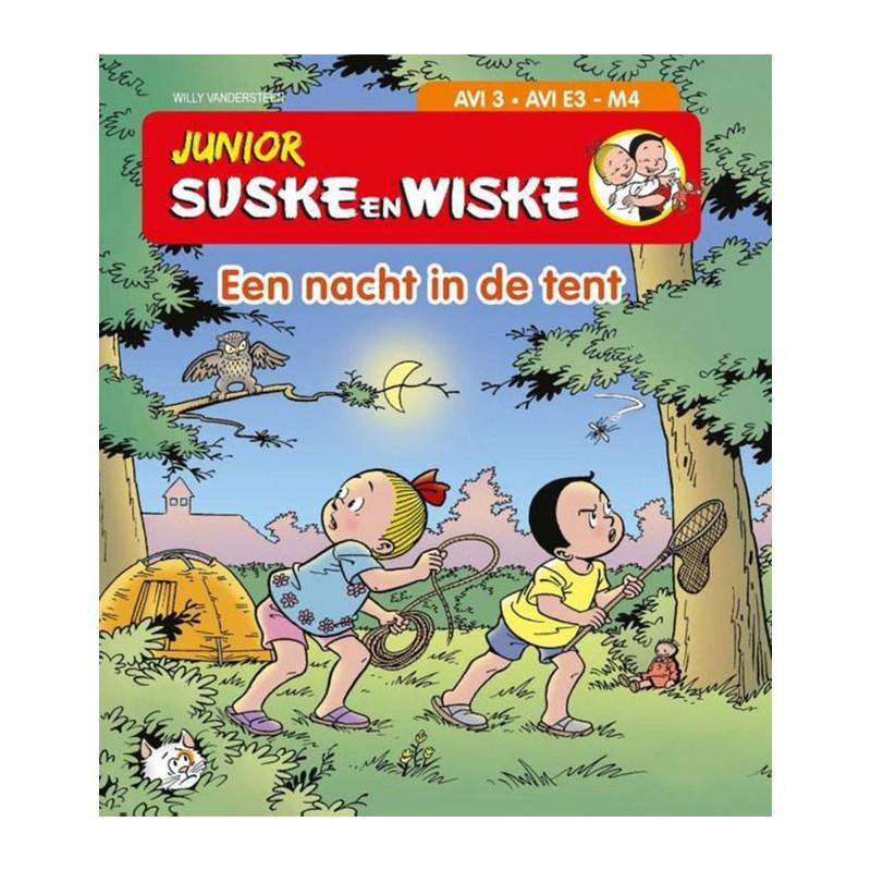 Junior Suske en Wiske - Een nacht in de tent (AVI 3)