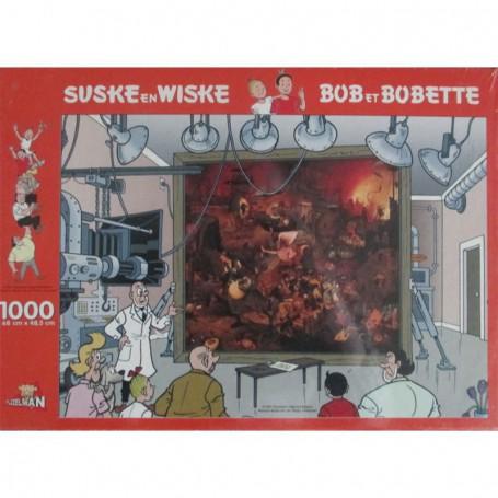 Suske en Wiske puzzel De Dulle Griet 1000 stukjes