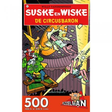 Suske en Wiske puzzel De circusbaron 500 stukjes