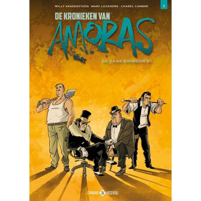 De Kronieken van Amoras - De zaak Krimson 1