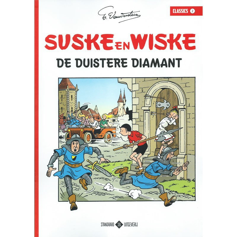 Suske en Wiske Classics 2 - De duistere diamant