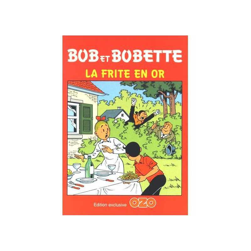 Bob et Bobette - La frite en or