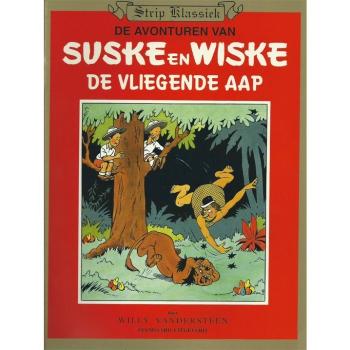Suske en Wiske - De vliegende aap Strip Klassiek (Hoogvliet)