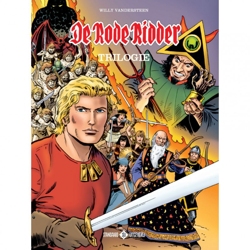 De Rode Ridder - Trilogie 2017 softcover