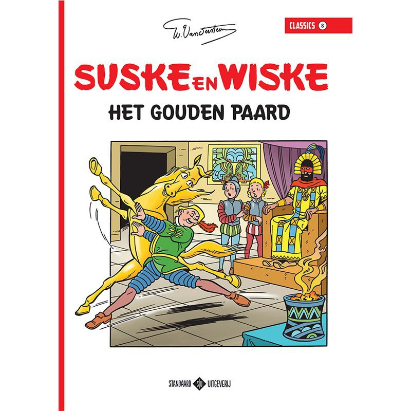 Suske en Wiske Classics 8 - Het gouden paard