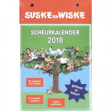 Suske en Wiske scheurkalender 2018