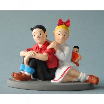 Parastone - Suske en Wiske zittend mini