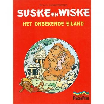 Suske en Wiske - Het onbekende eiland (Presto Print)