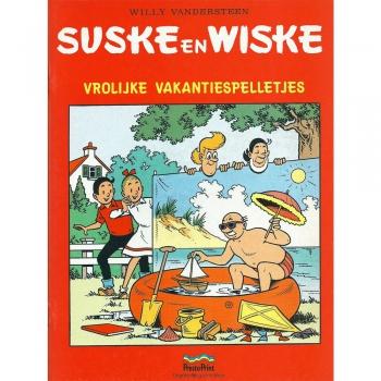 Suske en Wiske - Vrolijke vakantiespelletjes (Presto Print)