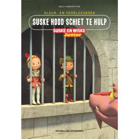 Junior Suske en Wiske - Kleur-/voorleesboek Suske Hood schiet te hulp