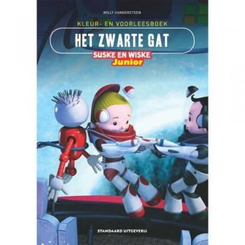 Junior Suske en Wiske - Kleur-/voorleesboek Het zwarte gat