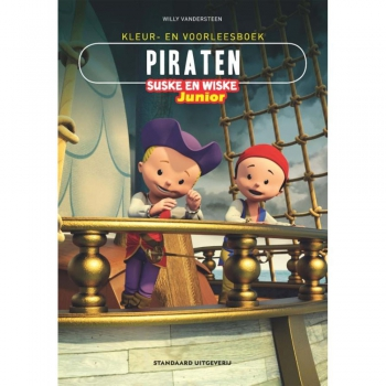 Junior Suske en Wiske - Kleur-/voorleesboek Piraten