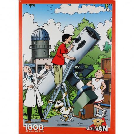 Suske en Wiske puzzel Urania 1000 stukjes