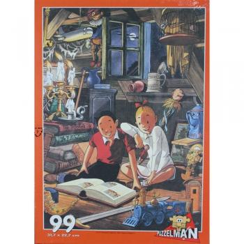 Suske en Wiske puzzel Zolder 99 stukjes