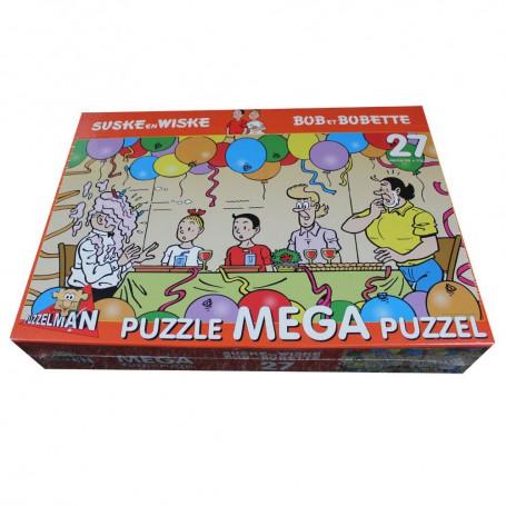 Suske en Wiske mega puzzel Feest 27 stukken
