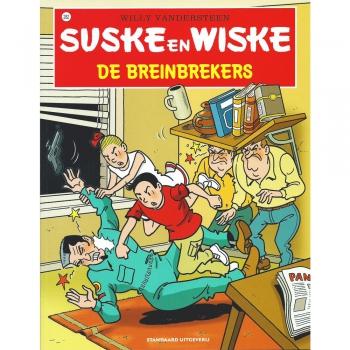 Suske en Wiske 282 - De breinbrekers (hertekende cover)