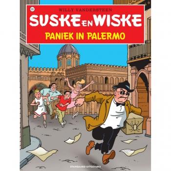 Suske en Wiske 283 - Paniek in Palermo (hertekende cover)