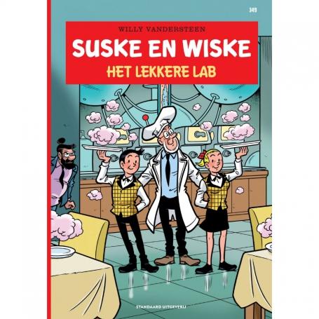 Suske en Wiske 349 - Het lekkere lab