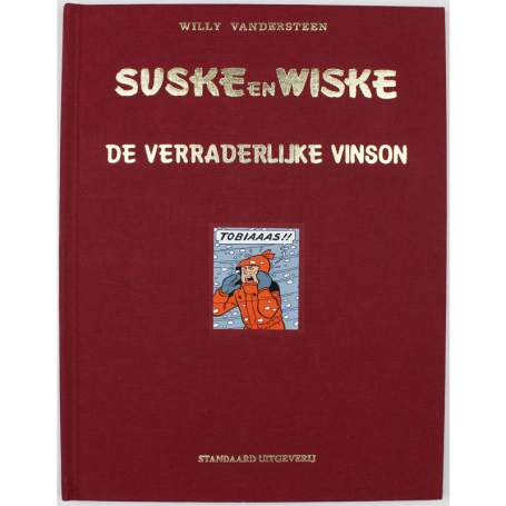 Suske en Wiske 251 luxe linnen - De verraderlijke Vinson