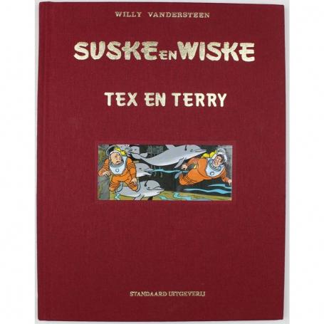 Suske en Wiske 254 luxe linnen - Tex en Terry
