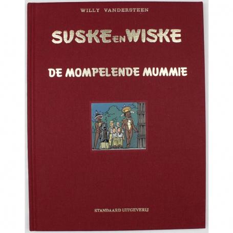 Suske en Wiske 255 luxe linnen - De mompelende mummie