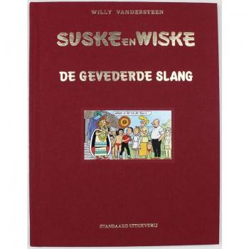 Suske en Wiske 258 luxe linnen - De gevederde slang