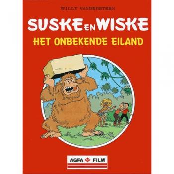 Suske en Wiske - Het onbekende eiland (Agfa)