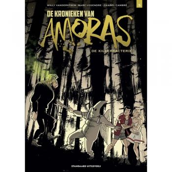 De Kronieken van Amoras 5 - De killerbacterie