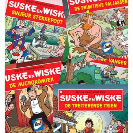 Suske en Wiske - Set 5 nieuwe Dash boekjes