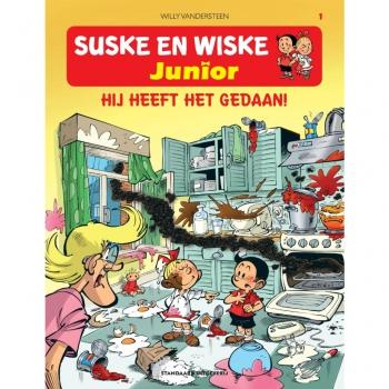 Suske en Wiske Junior 1 - Hij heeft het gedaan!