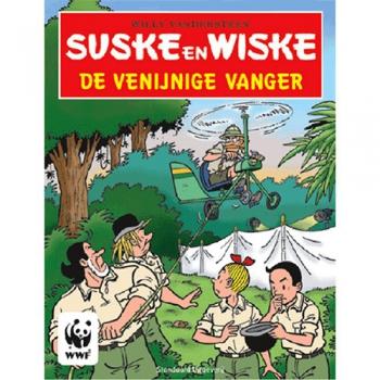 Suske en Wiske - De venijnige vanger (stickerboek)