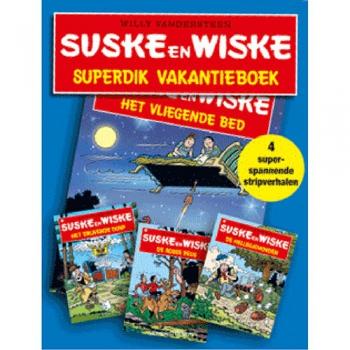Suske en Wiske - Superdik vakantieboek Lidl 2010 (blauw)