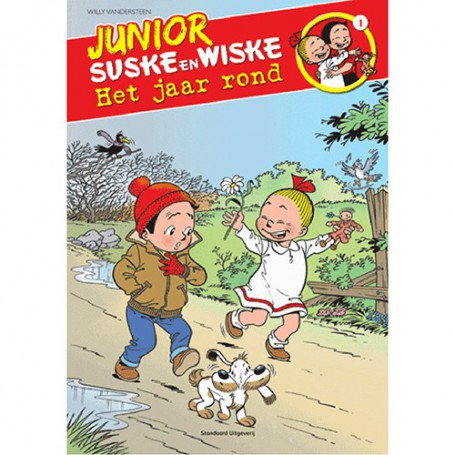 Junior Suske en Wiske 1 - Het jaar rond