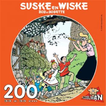 Suske en Wiske puzzel rond De flierende fluiter