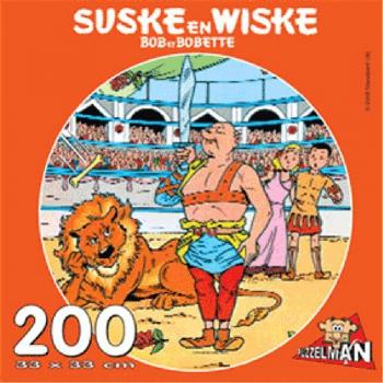 Suske en Wiske puzzel rond Het geheim van de gladiatoren