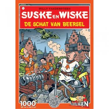 Suske en Wiske puzzel De schat van Beersel