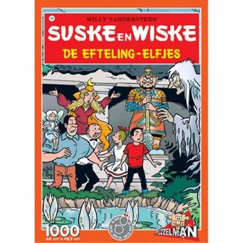 Suske en Wiske puzzel De Efteling-elfjes
