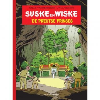Suske en Wiske - De preutse prinses groot formaat luxe