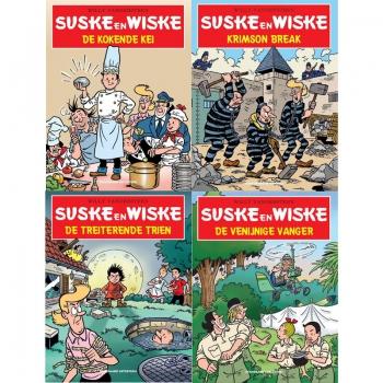 Suske en Wiske - Kruidvat set 4 delen 2020