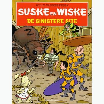 Suske en Wiske - De sinistere site Hyves