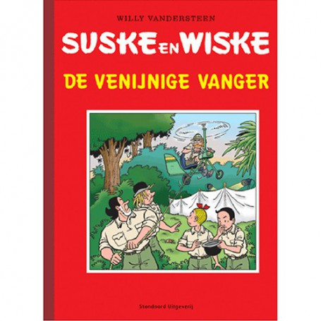 Suske en Wiske - De venijnige vanger luxe