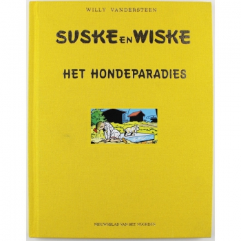 Suske en Wiske - Het hondeparadies luxe (Drents)