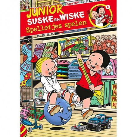 Junior Suske en Wiske 6 - Spelletjes spelen