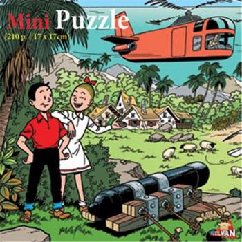 Suske en Wiske mini puzzel Het eiland Amoras