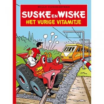 Suske en Wiske - Het vurige Vitamitje luxe