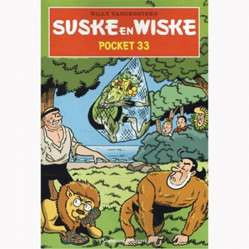 Suske en Wiske - Pocket nr.33