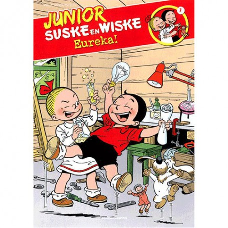 Junior Suske en Wiske 7 - Eureka!