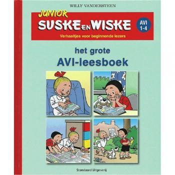 Junior Suske en Wiske - Het grote AVI-leesboek