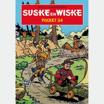 Suske en Wiske - Pocket nr.34