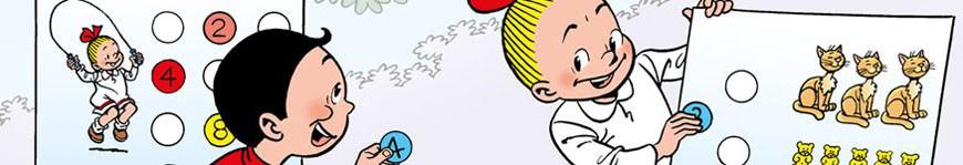 Junior Suske en Wiske strips en leesboeken